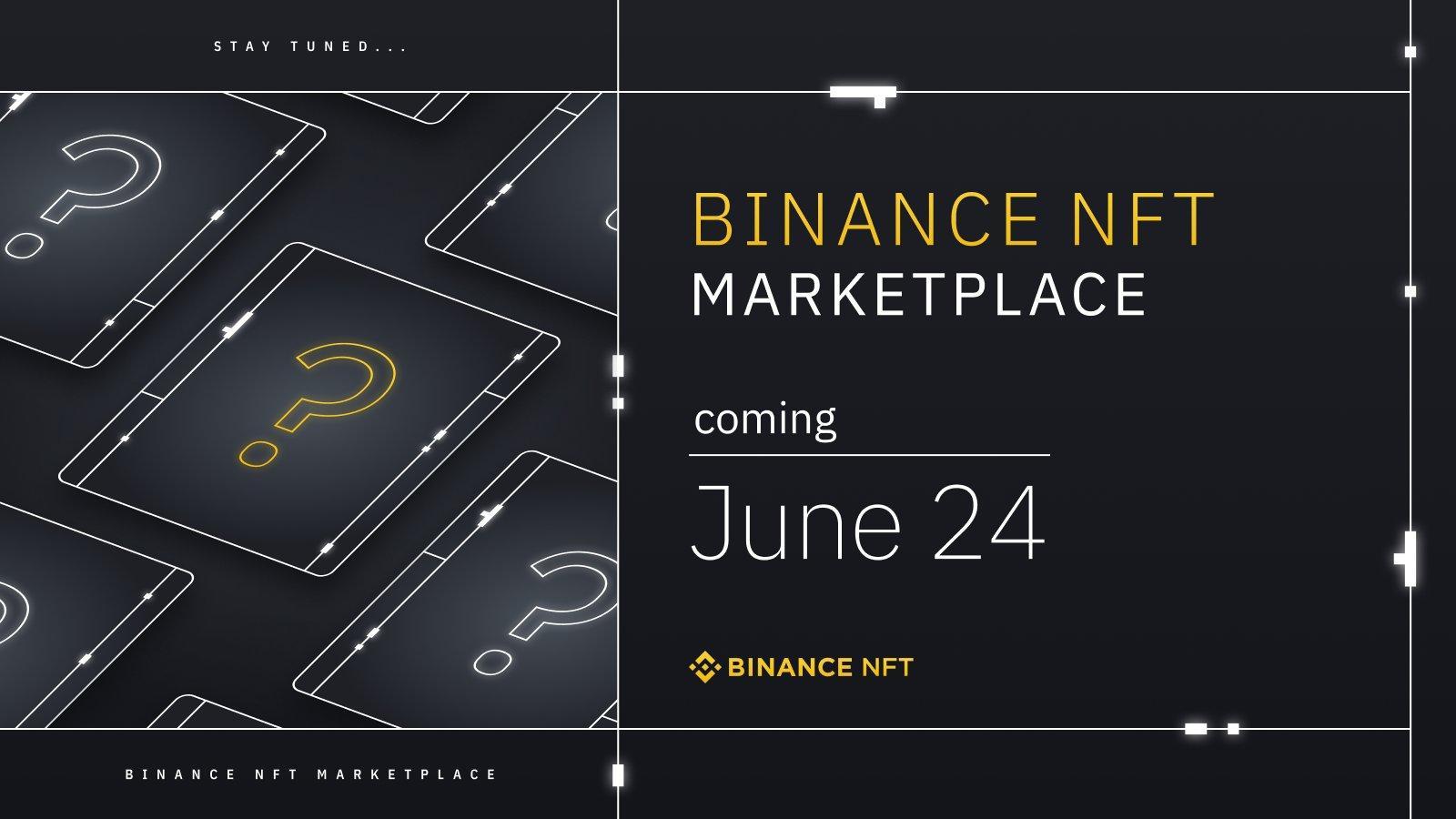 Binance NFT marketplace-launch