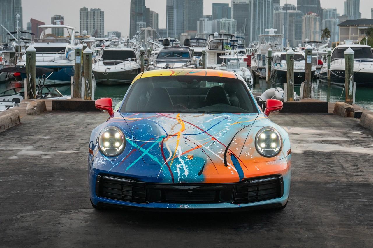 NFT #RBC9ELEVEN Porsche by Rich B. Caliente x Rick Ross-nft-drop