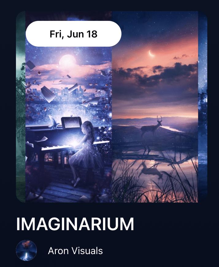 IMAGINARIUM by Aron Visuals-nft-drop