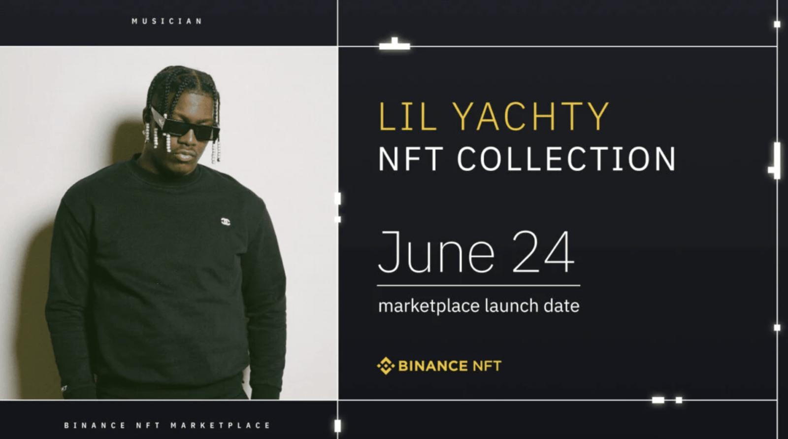 Lil Yachty NFT Collection on Binance NFT