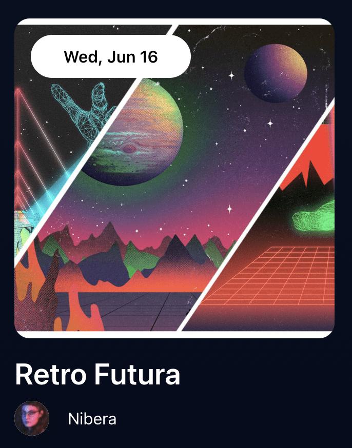 Retro Futura by Nibera-nft-drop