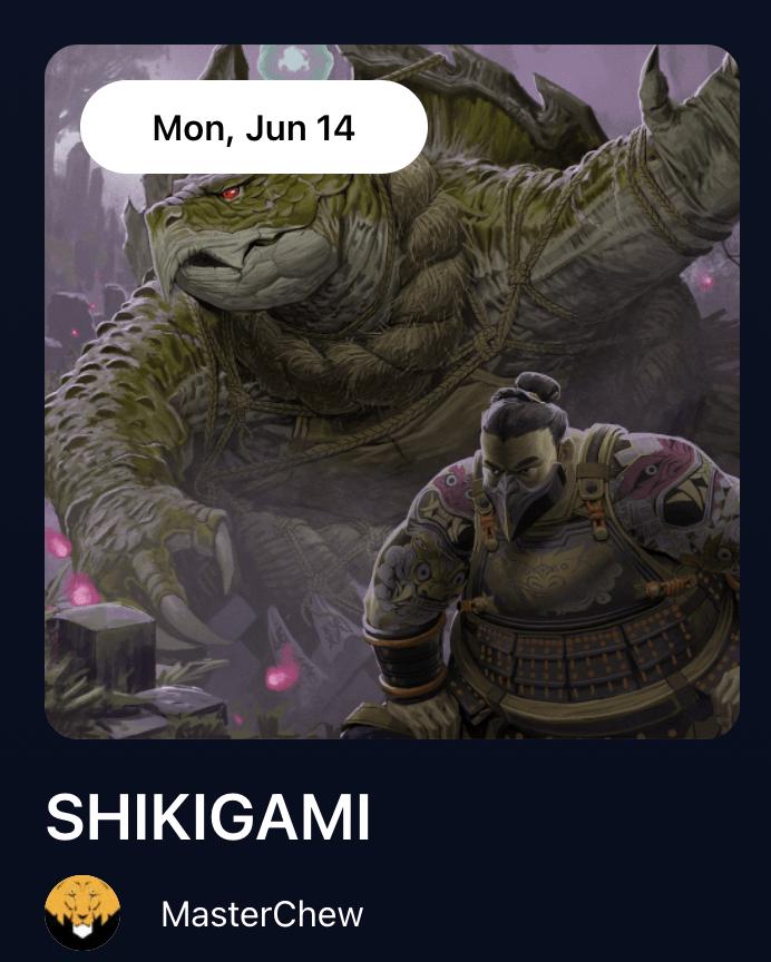 SHIKIGAMI by MasterChew-nft-drop